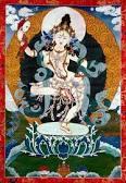 Ich nehme Zuflucht zu den Vatergurus. Ich bete zu ihnen, die unermesslich gütig sind. Bitte haltet alle Wesen in den sechs Welten fest mit eurem Mitgefühl. Und ganz besonders helft bitte mir, einer Bettlerin, Auf dass ich in den Dharma eintreten möge.
