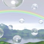 BubblesLakeRainbow